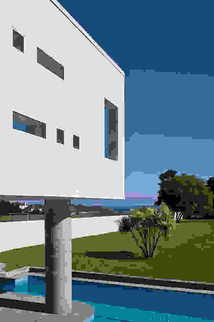 Le Foin Bas Modern houses by JAMIE FALLA ARCHITECTURE Modern