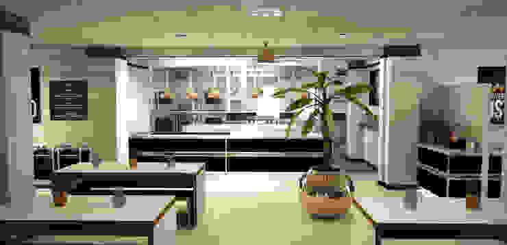 School Bistro: modern  by MYA Consulting Ltd, Modern