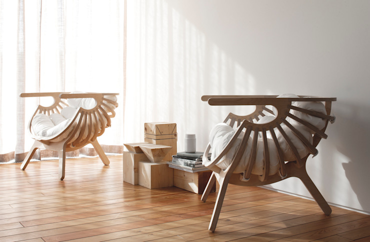 Shell Chair por Branca Lisboa