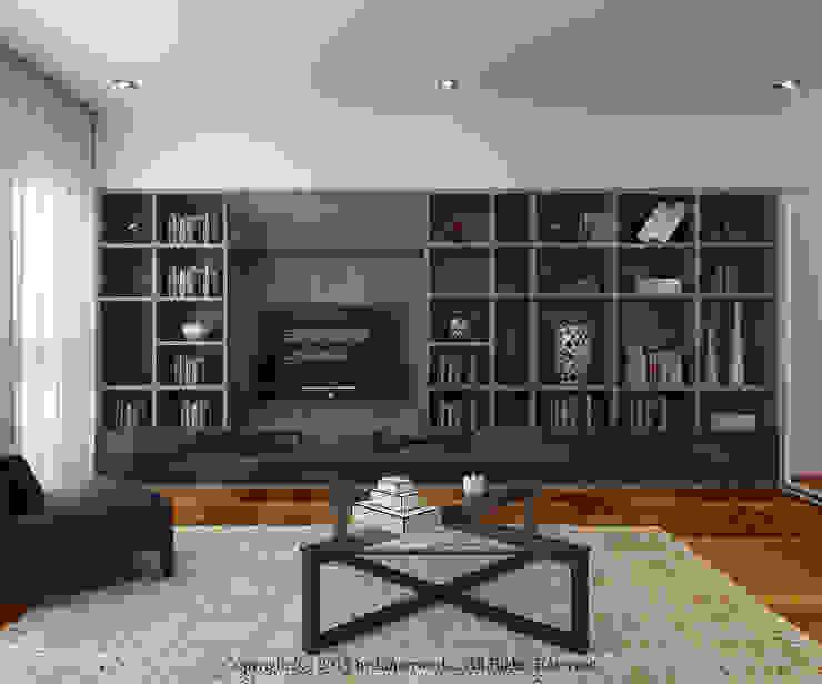 Semi-Detached House at Redang Villa, Malaysia: minimalist  by Honeywerkz, Minimalist