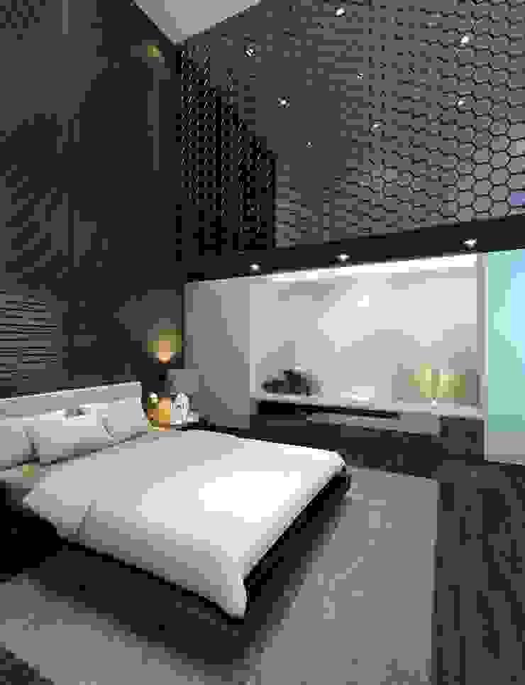 House at Sentosa Cove | Proposal Modern style bedroom by Honeywerkz Modern