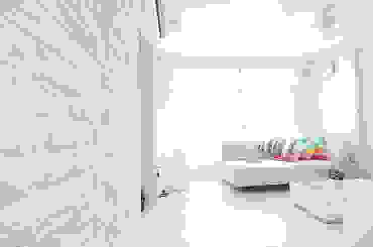 Apartment at Punggol Field Salas de estilo minimalista de Honeywerkz Minimalista