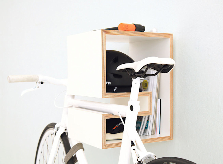 MIKILI – Bicycle Furniture: modern tarz , Modern
