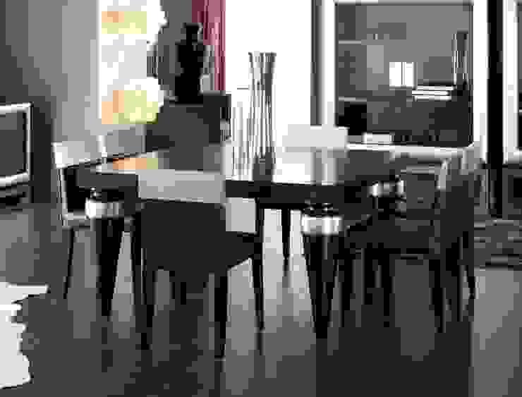 Mesa de Comedor Moderna Vesta de Ámbar Muebles Moderno