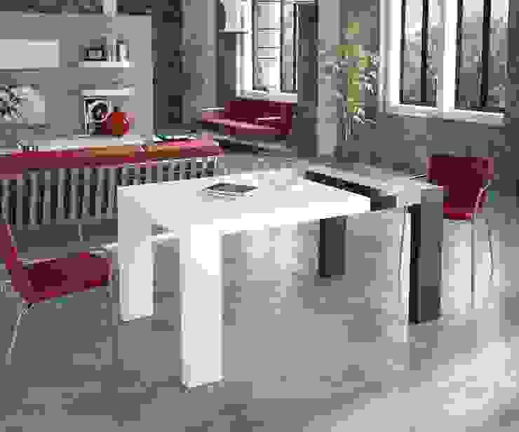 Mesa Comedor de Diseño Moderno Samara de Ámbar Muebles Moderno