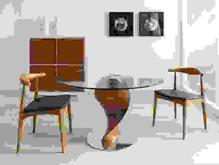 Mesa de Comedor Moderna Heredia de Ámbar Muebles Moderno