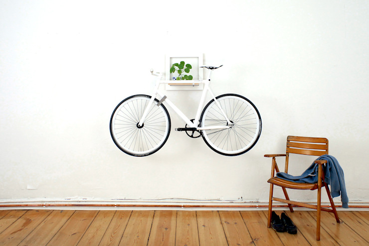 SLÎT – weiß von MIKILI – Bicycle Furniture Minimalistisch
