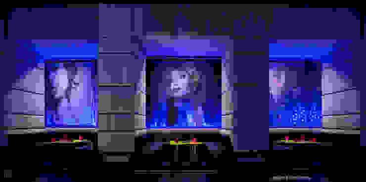 Madison Launge Bar Hotel moderni di MGA LAB Moderno