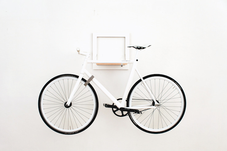 MIKILI – Bicycle Furniture: minimalist tarz , Minimalist