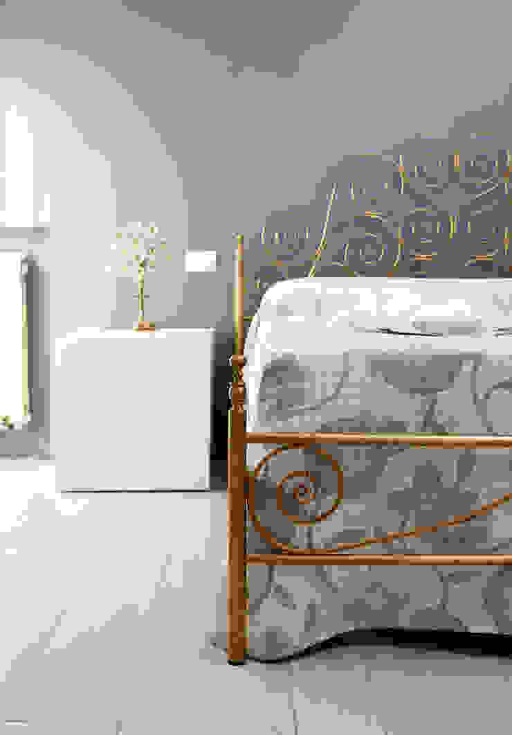 VIA CIPRO Camera da letto moderna di Flussocreativo Design Studio Moderno