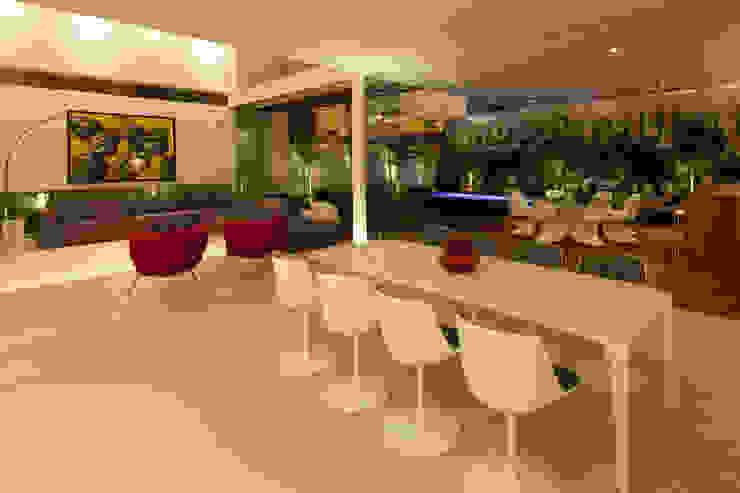 FF HOUSE Comedores modernos de Hernandez Silva Arquitectos Moderno
