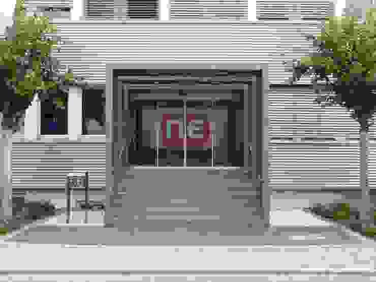 NPR of Europe GmbH Moderne Bürogebäude von Udo Ziegler | Architekten Modern