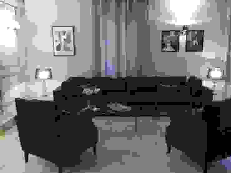 Salon maison d'hôtes Maisons originales par AZ Createur d'intérieur Éclectique