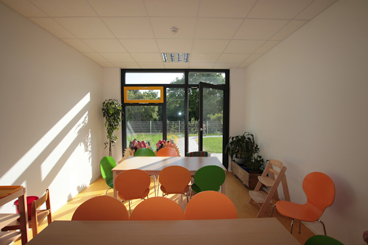 Kita St. Rupert Moderne Schulen von Udo Ziegler | Architekten Modern