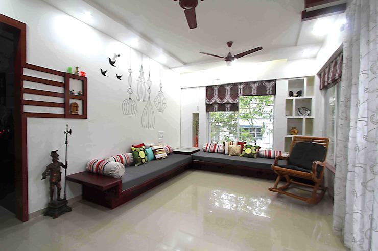 3BHK Interior decorator in Kothrud: minimalist  by Designaddict,Minimalist