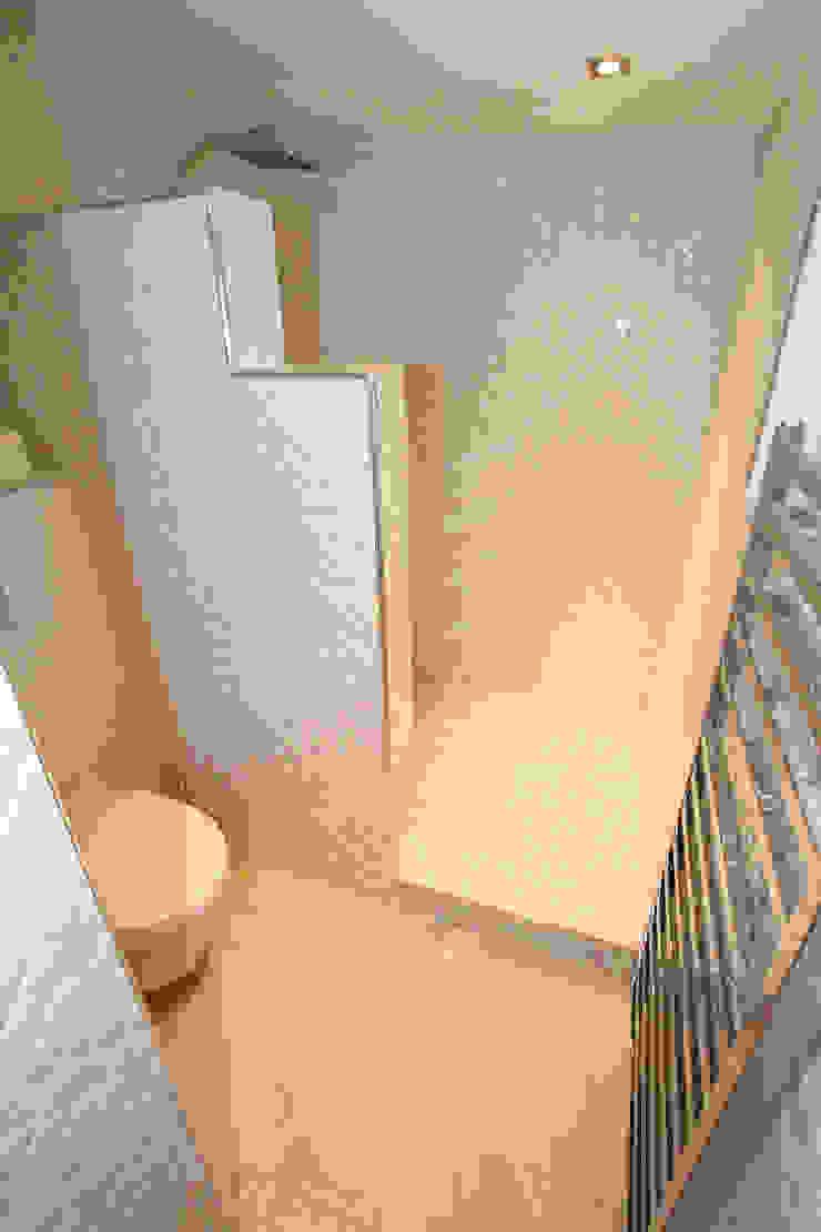 Salle de bain esprit Chanel Maisons originales par AZ Createur d'intérieur Éclectique