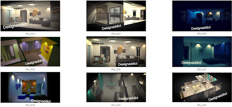 3d Designing work: modern  by Designaddict,Modern