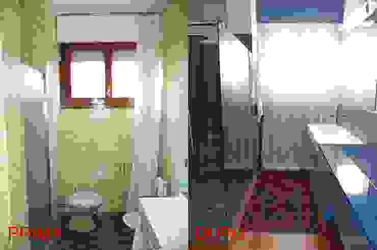 """""""Refurbish the Seventies"""" Bagno moderno di Studio Architetto Daniele Agostinelli Moderno"""