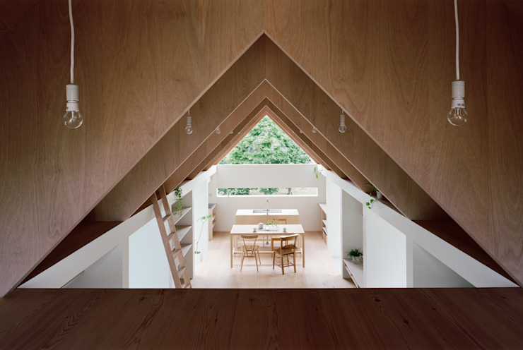 Koyanosumika Minimalist dining room by ma-style architects Minimalist
