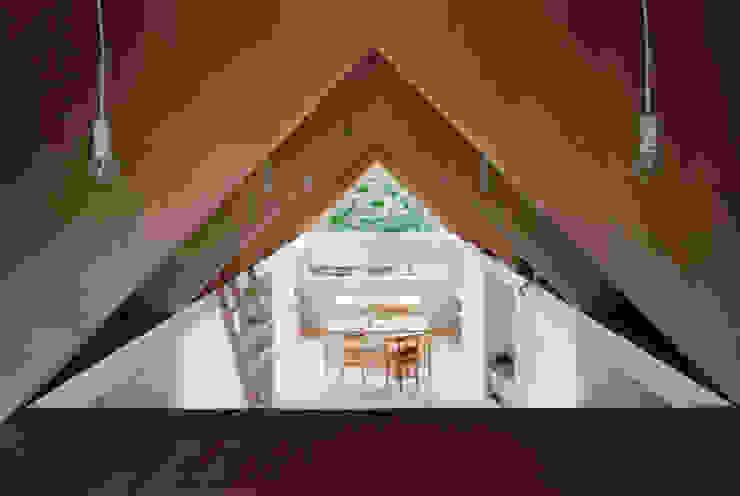 Koyanosumika ma-style architects Minimalist dining room