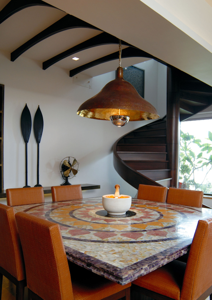 Old meets New Modern dining room by The Orange Lane Modern
