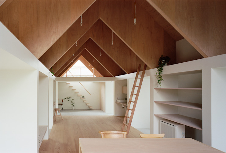 Koyanosumika Minimalist study/office by ma-style architects Minimalist