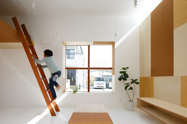 Idokoro Minimal style window and door by ma-style architects Minimalist