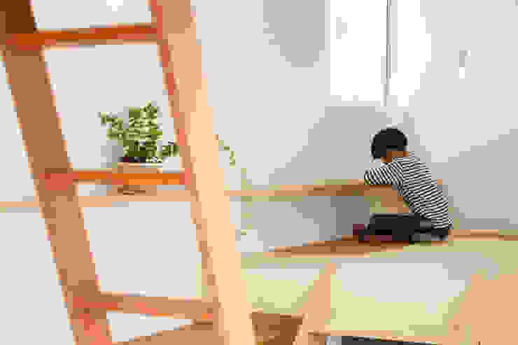Idokoro Minimalist study/office by ma-style architects Minimalist