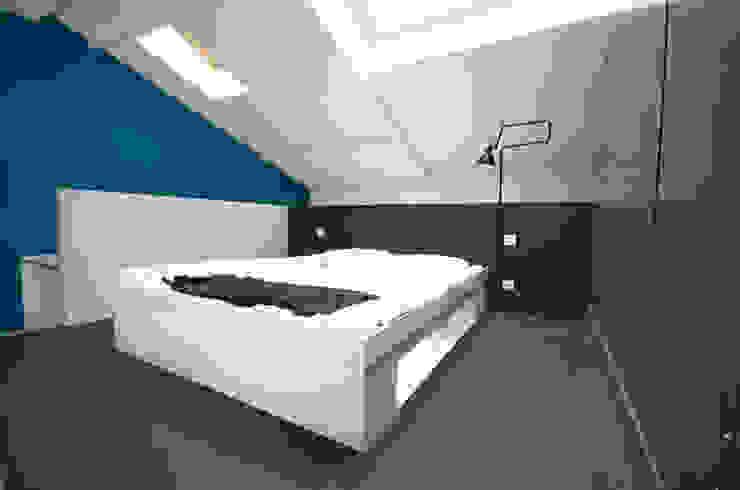 La chambre en mezzanine par Metek Architecture