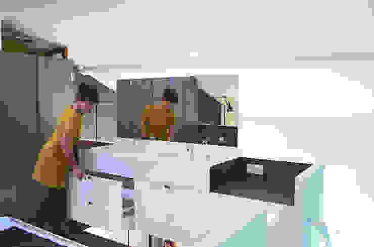 Vasques en mezzanine par Metek Architecture