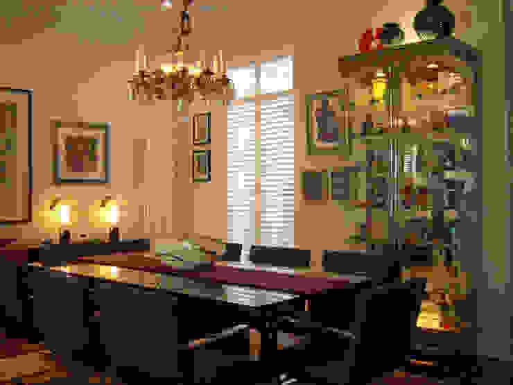 Victorian terrace house Dining Room Schema Studio Limited Salle à manger moderne