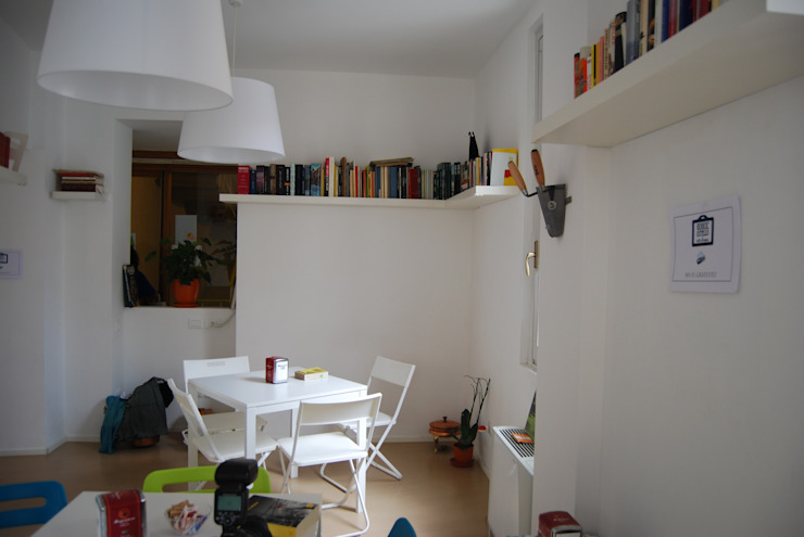 Gogol'ostello con cafTè letterario Negozi & Locali commerciali in stile eclettico di atelier architettura Eclettico
