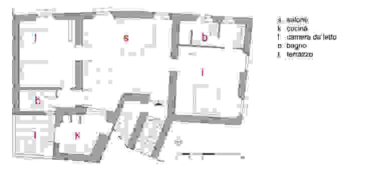 Casa x turisti Italo-Inglesi di Vincenzo Carone Architetto Mediterraneo