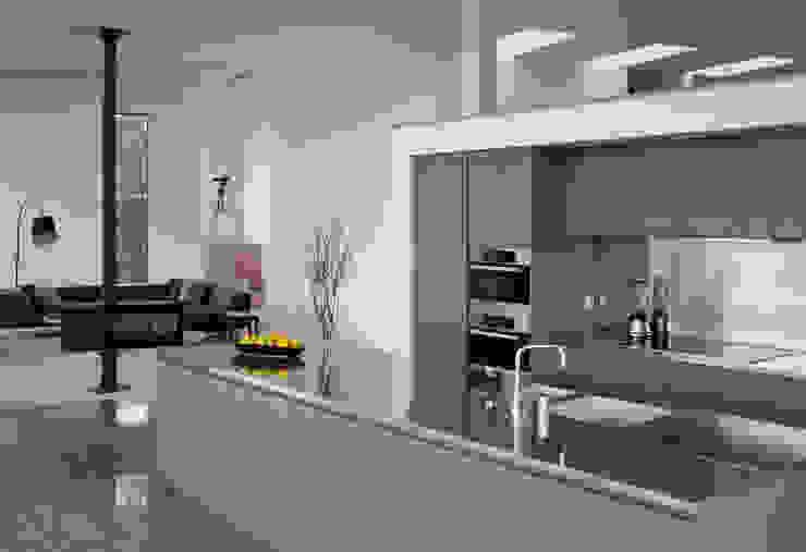 Le Portelet Modern kitchen by JAMIE FALLA ARCHITECTURE Modern