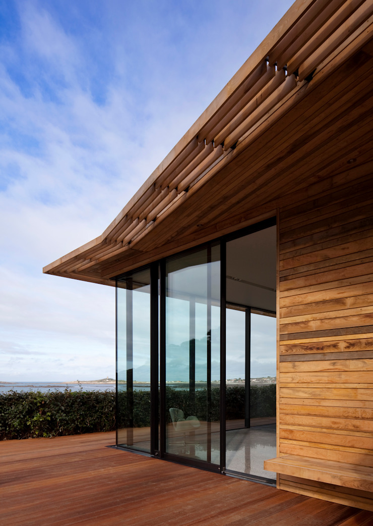 Le Portelet Modern windows & doors by JAMIE FALLA ARCHITECTURE Modern