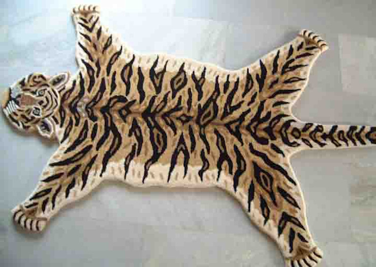 Crouching Tiger Sterling Rugs Nursery/kid's roomAccessories & decoration