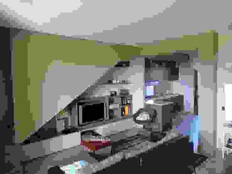 Soggiorno Cucina Cucina eclettica di studionove architettura Eclettico
