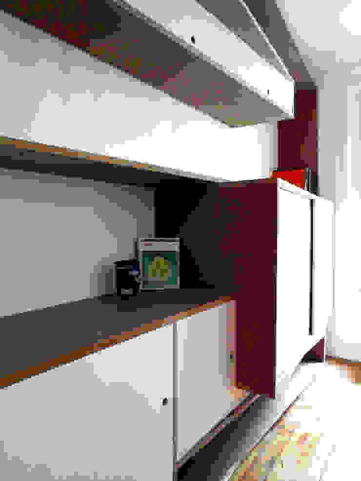 Maremeet – Bibliothèque Salon par Atelier Hô