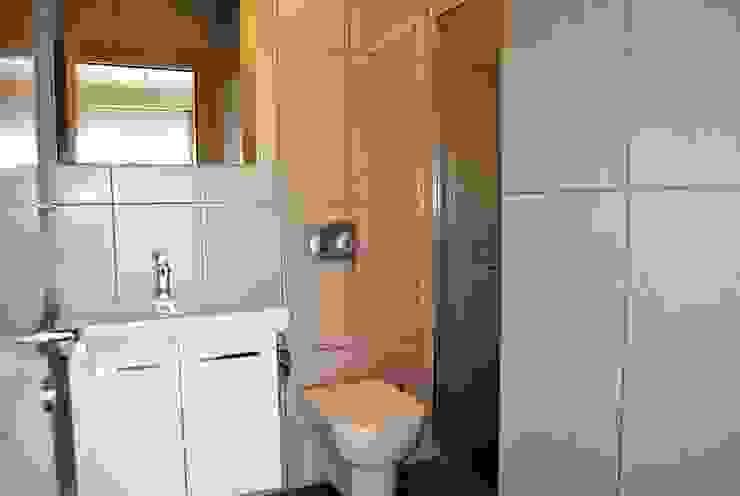 Azure Villaları 3 Odalı İkiz Dubleksler Estateinwest Modern Banyo