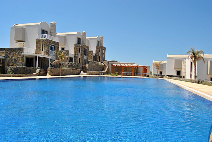 Azure Villaları 4 Odalı Müstakil Villalar Modern Havuz Estateinwest Modern