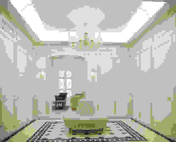 Холл Коридор, прихожая и лестница в классическом стиле от studio forma Классический