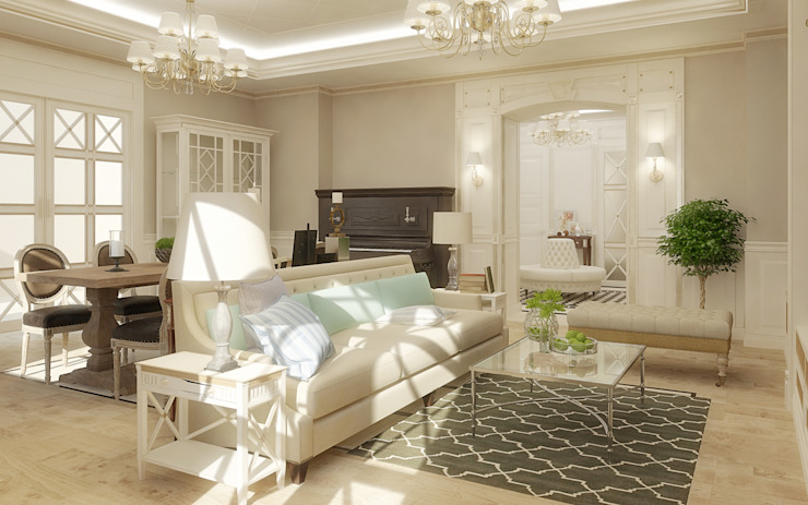 Classic style living room by studio forma Classic