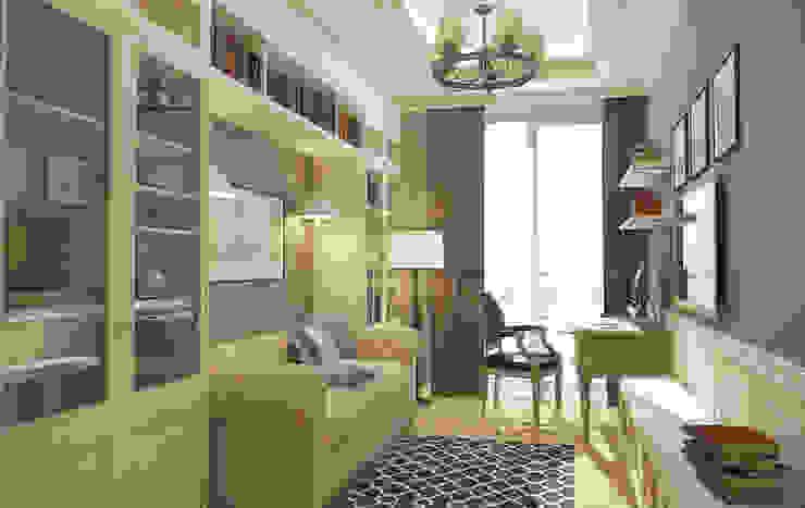 Phòng học/văn phòng phong cách kinh điển bởi studio forma Kinh điển