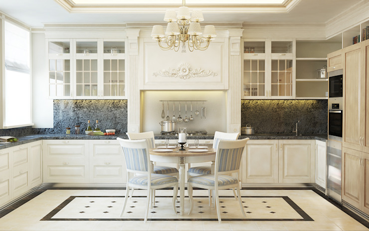 Кухня Кухня в классическом стиле от studio forma Классический