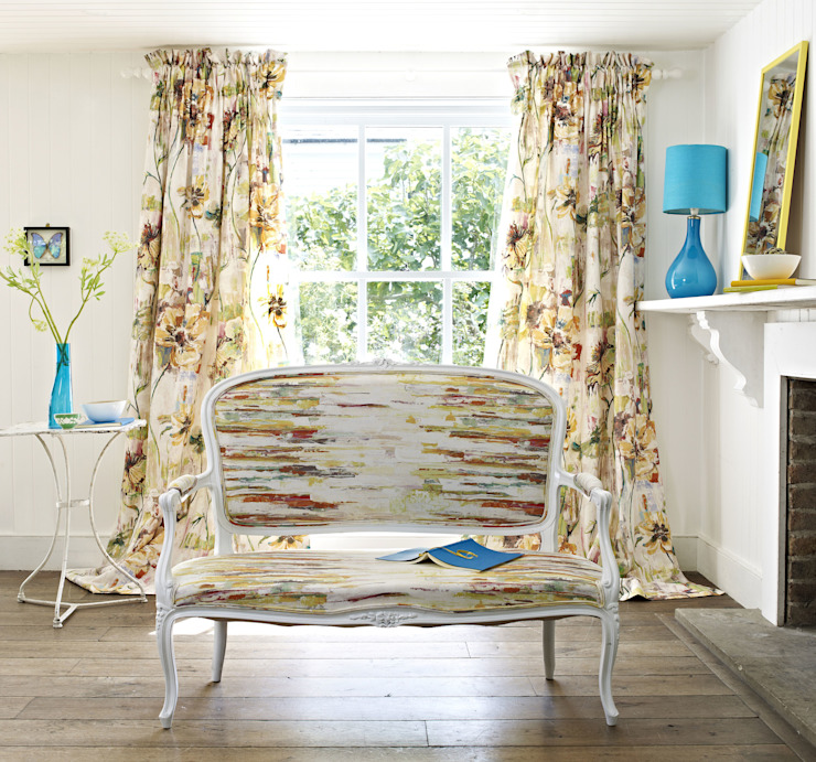 Printworks Eclectic style living room by Prestigious Textiles Eclectic