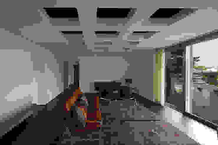 Salas / recibidores de estilo  por 무회건축연구소, Moderno