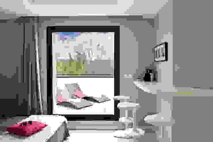 Chambres d'hôtes contemporaines par Catherine Plumet Interiors