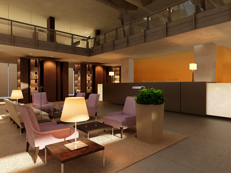 BAR Hotel moderni di Studio Giangrande Moderno