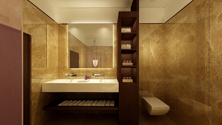 BAGNO Hotel moderni di Studio Giangrande Moderno