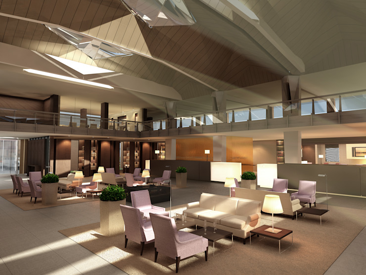 HALL Hotel moderni di Studio Giangrande Moderno
